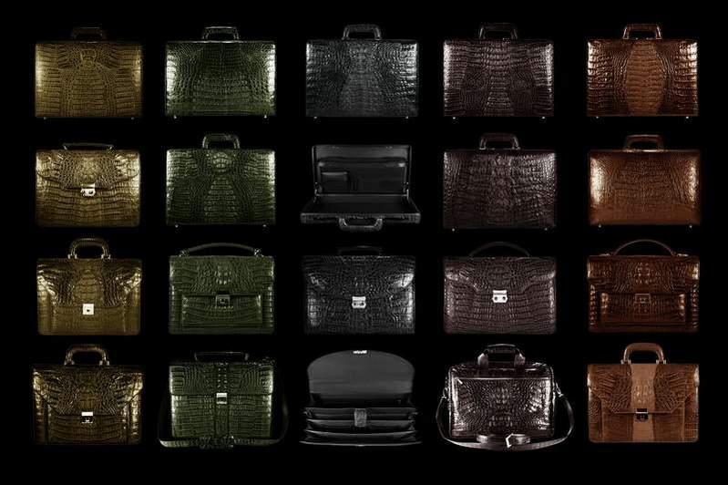 Пошив сумок и портфелей из кожи.