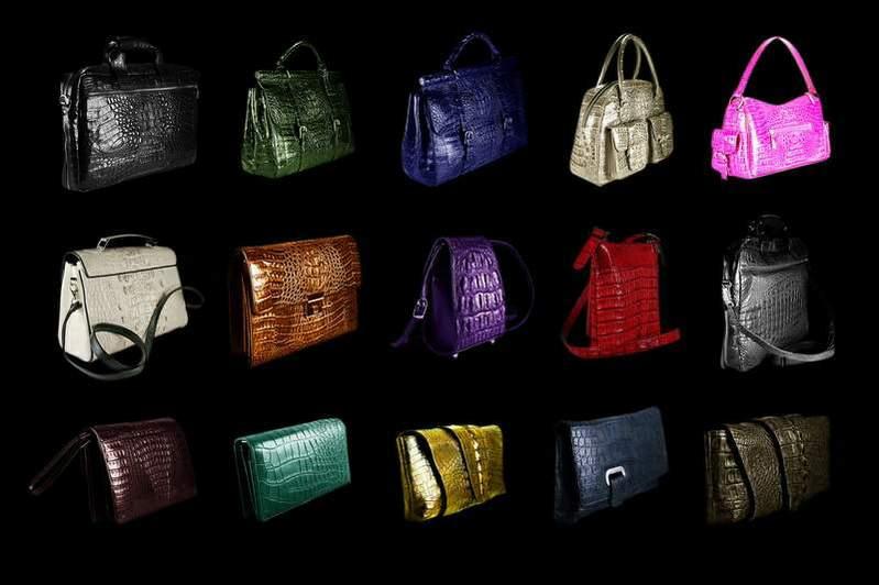 Olive skin and designer handbag - 2 2