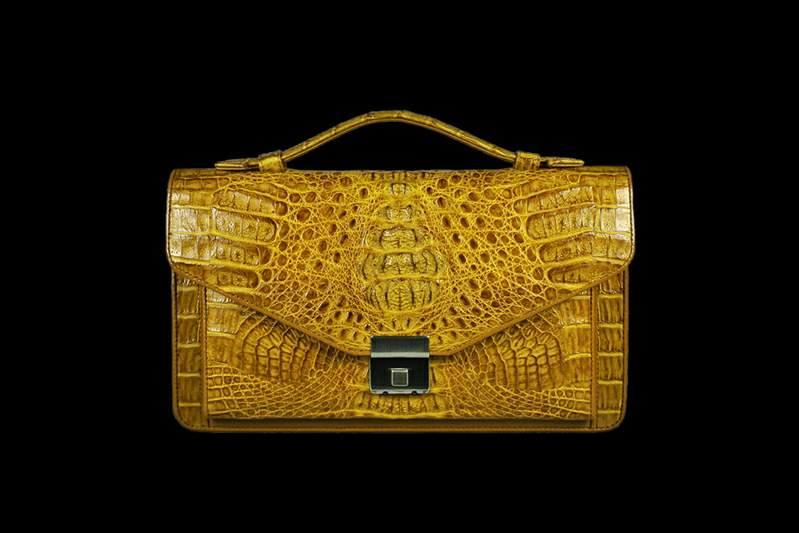Individual Orders Production Handbag Any Colors And Sizes Of Crocodile Skin Exclusive Purses Alligator Leather Caiman