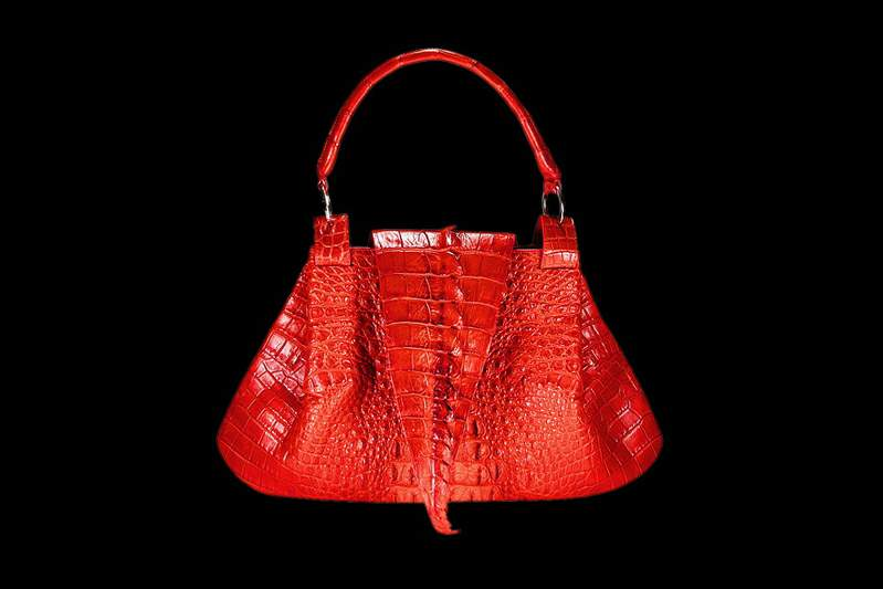 Exclusive Women Handbags Crocodile Valve Bags Made From A Single Tail Of Lady S Bag Leather Exotic Style By Mj