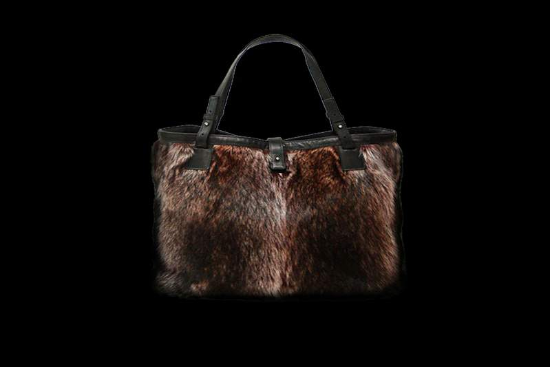 28a1db9a89c7 Designer handbags made of natural mink
